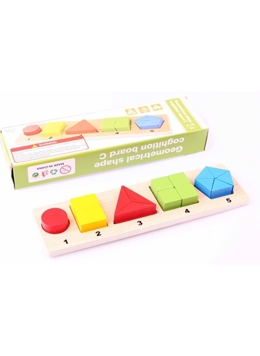 Learning Toys Ahşap Montessori Bölme Seti Renkli